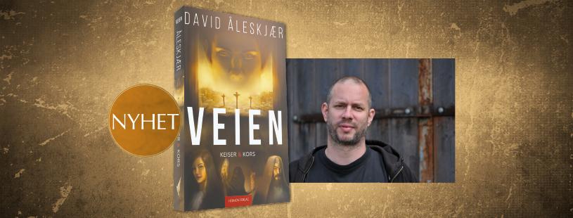 Få et innblikk i de første kristnes tid i David Åleskjærs nye bok, KEISER & KORS!